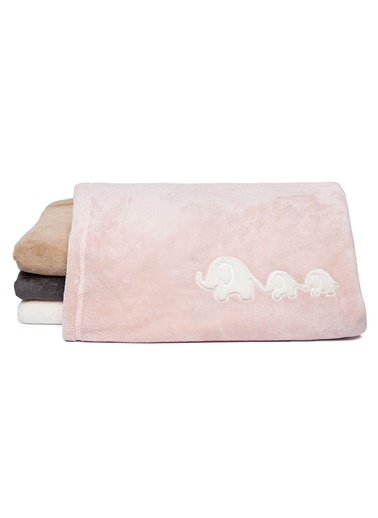 Soft Touch Aplikeli Bebek Battaniye-Mollia